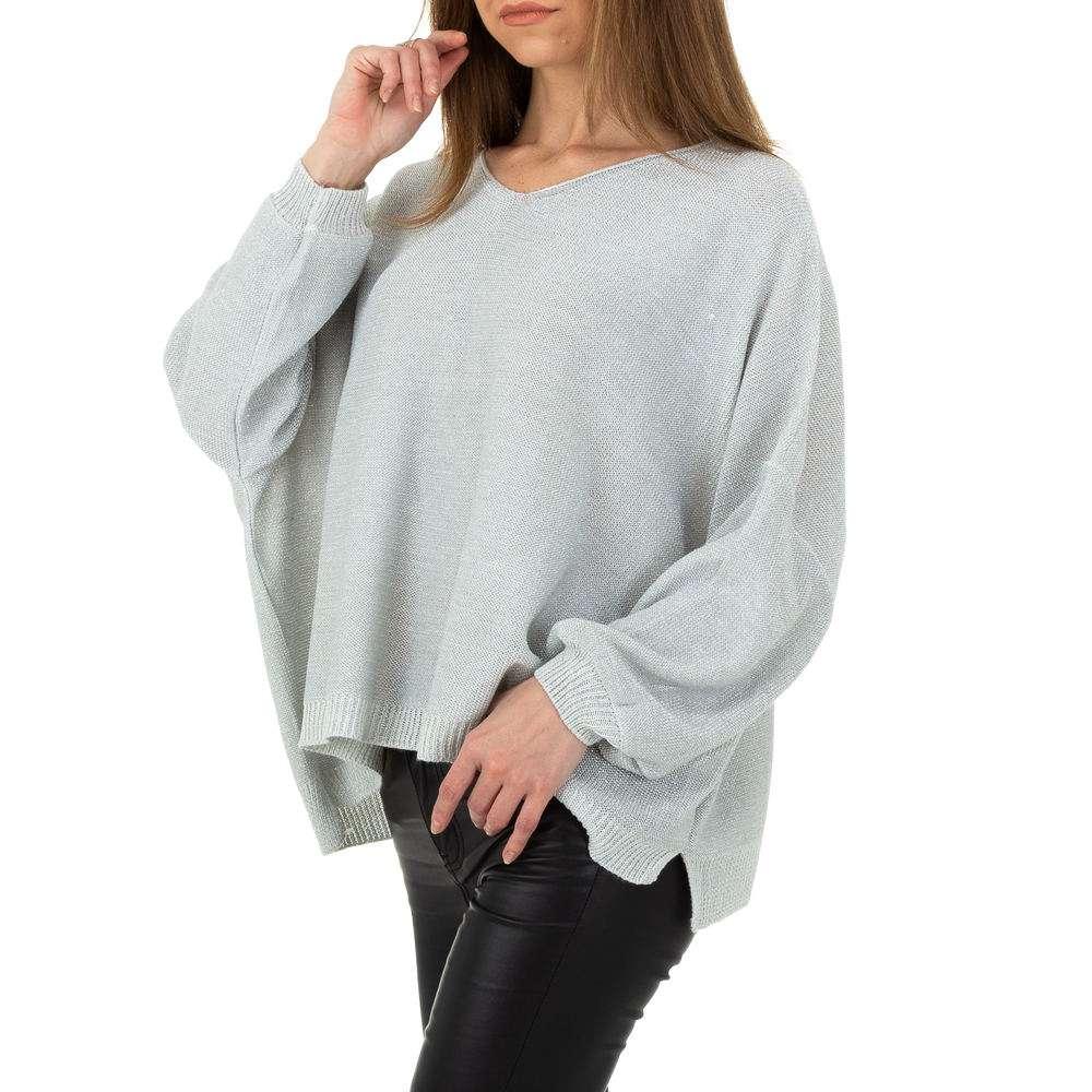 Pulover pentru femei de la Whoo Fashion Gr. O singură mărime - deschis gri - image 2