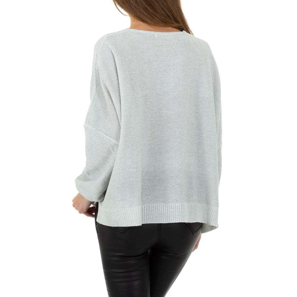 Pulover pentru femei de la Whoo Fashion Gr. O singură mărime - deschis gri - image 3