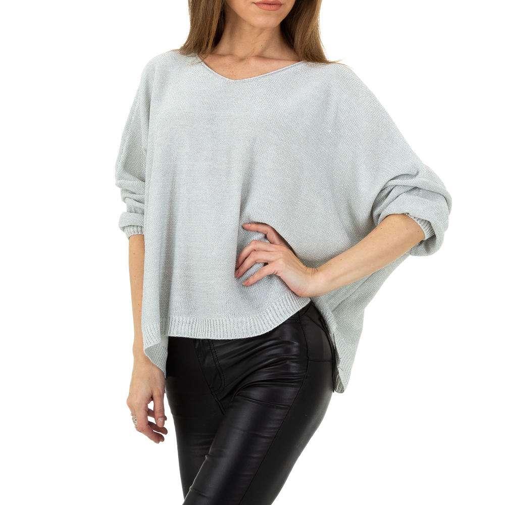 Pulover pentru femei de la Whoo Fashion Gr. O singură mărime - deschis gri - image 4