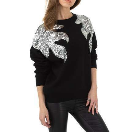Damen Pullover von Shako White Icy Gr. One Size - black