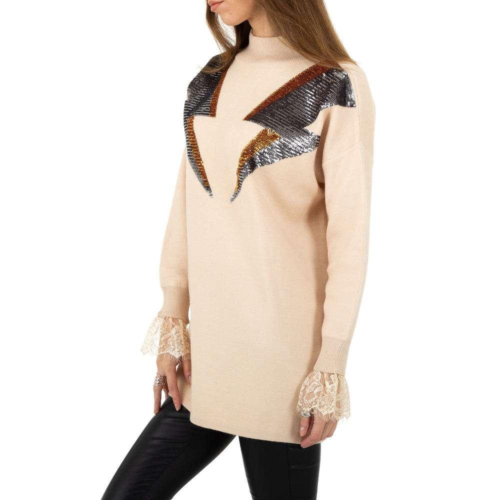 Pulover pentru femei de Shako White Icy Gr. O singură mărime - bej - image 2