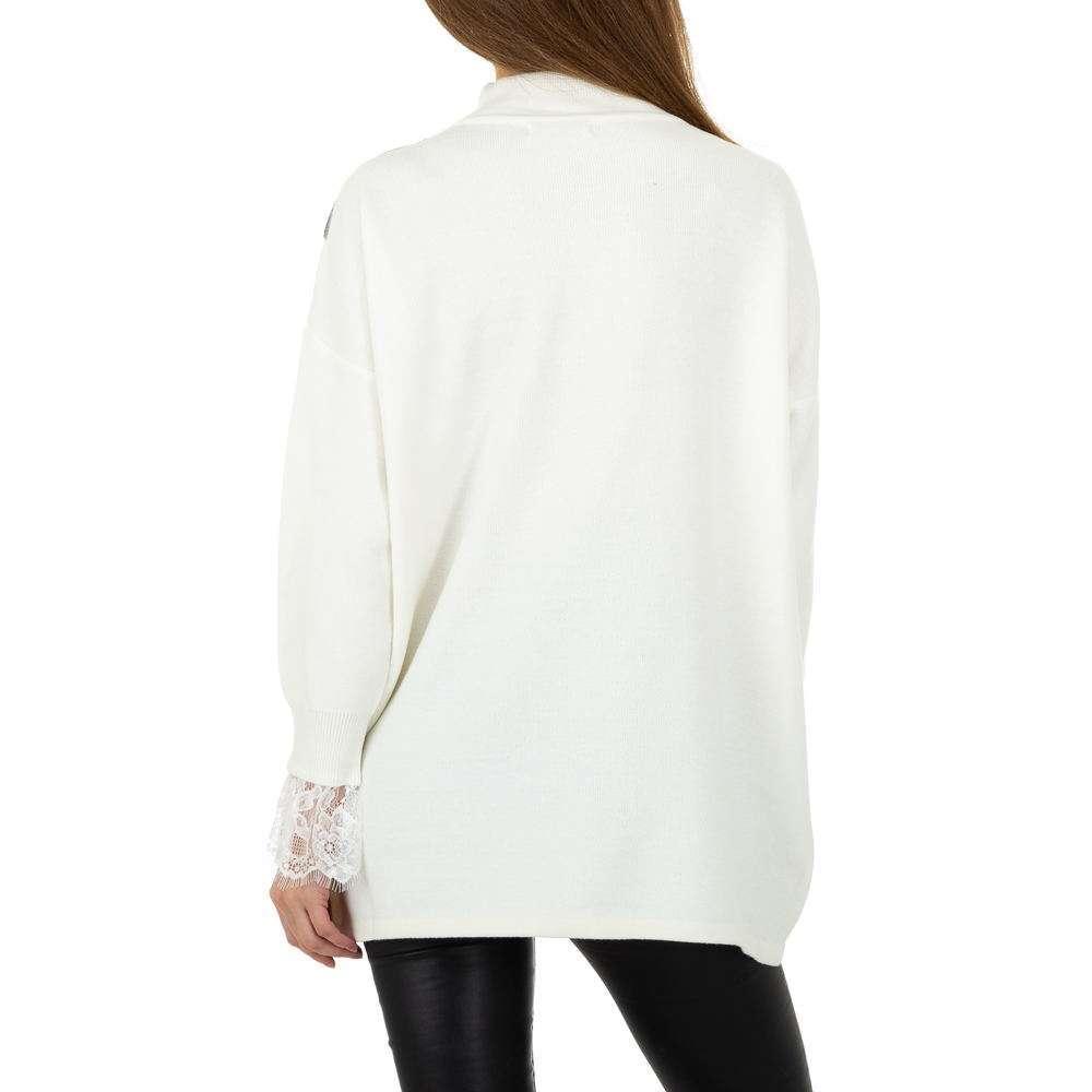 Pulover pentru femei de Shako White Icy Gr. O singură mărime - alb - image 3