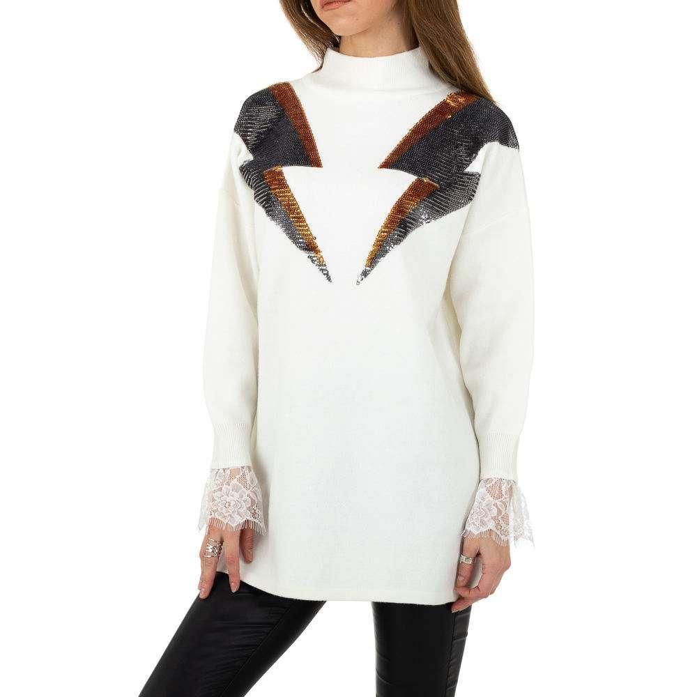 Pulover pentru femei de Shako White Icy Gr. O singură mărime - alb - image 4