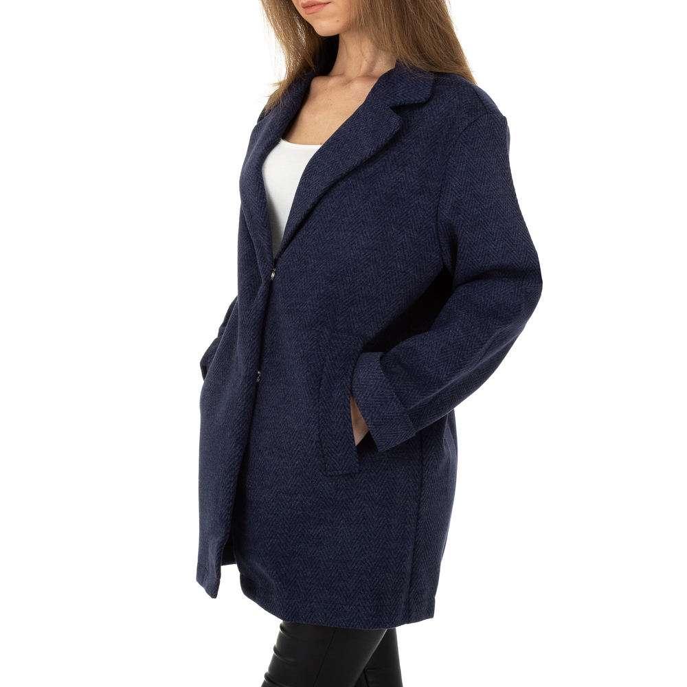 Palton pentru femei de JCL - albastru închis - image 2