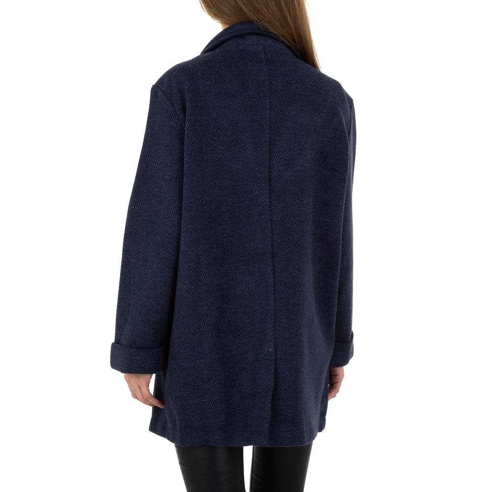 Palton pentru femei de JCL - albastru închis - image 3