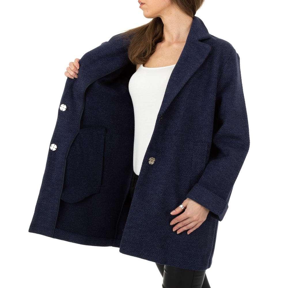 Palton pentru femei de JCL - albastru închis - image 5