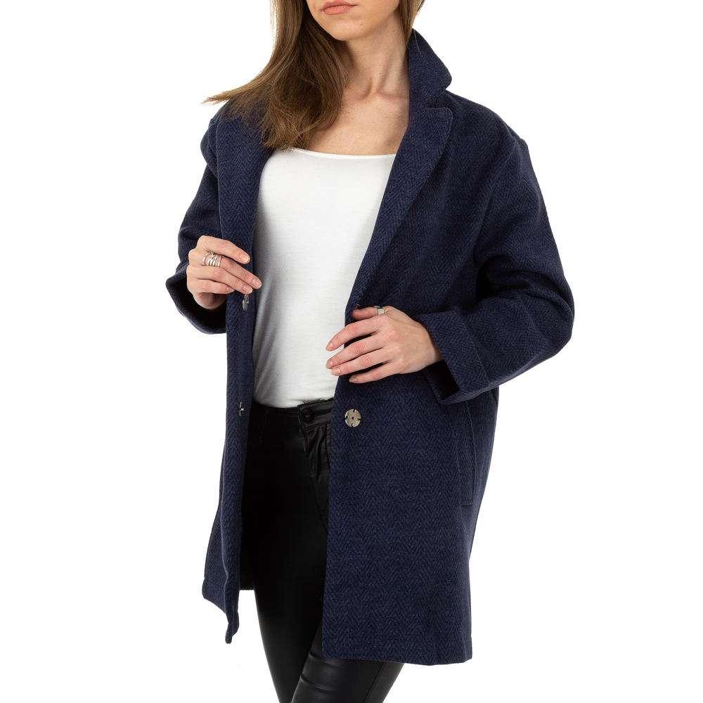 Palton pentru femei de JCL - albastru închis - image 6