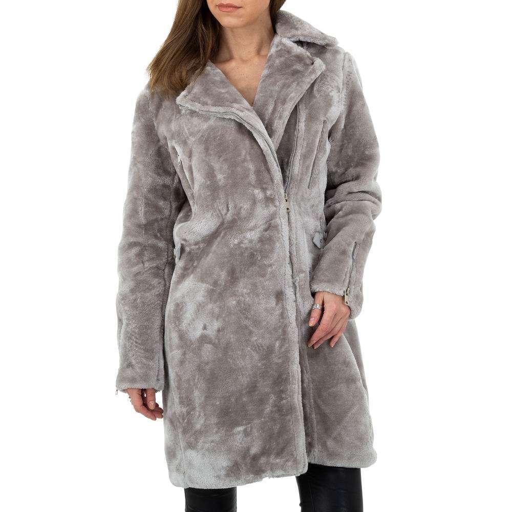 Palton pentru femei de JCL - gri