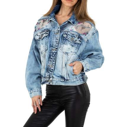 Damen Jacke von Original Denim - L.blue
