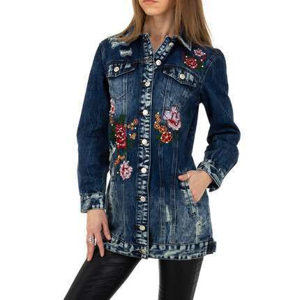Damen Jacke von Original Denim - blue