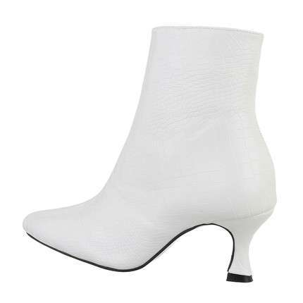Damen High-Heel Stiefeletten - whitestone