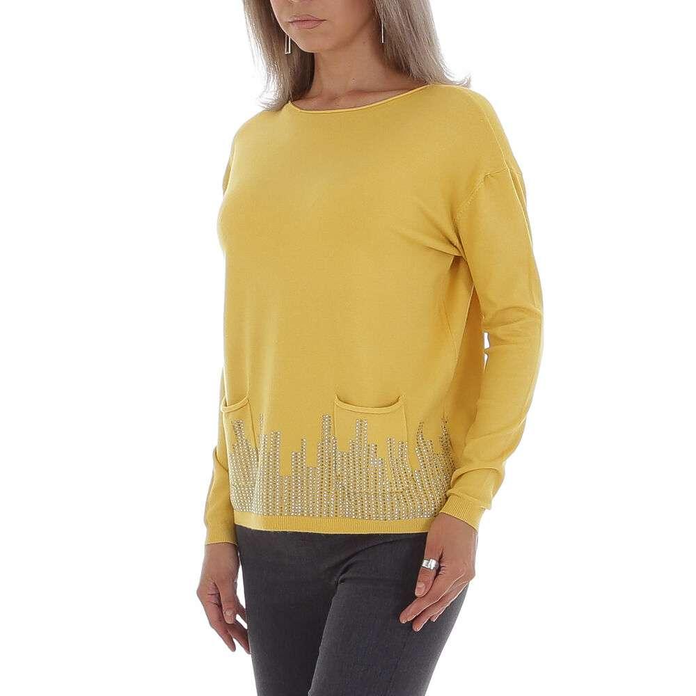 Pulover pentru femei de CMP55 Gr. O mărime - galben - image 2