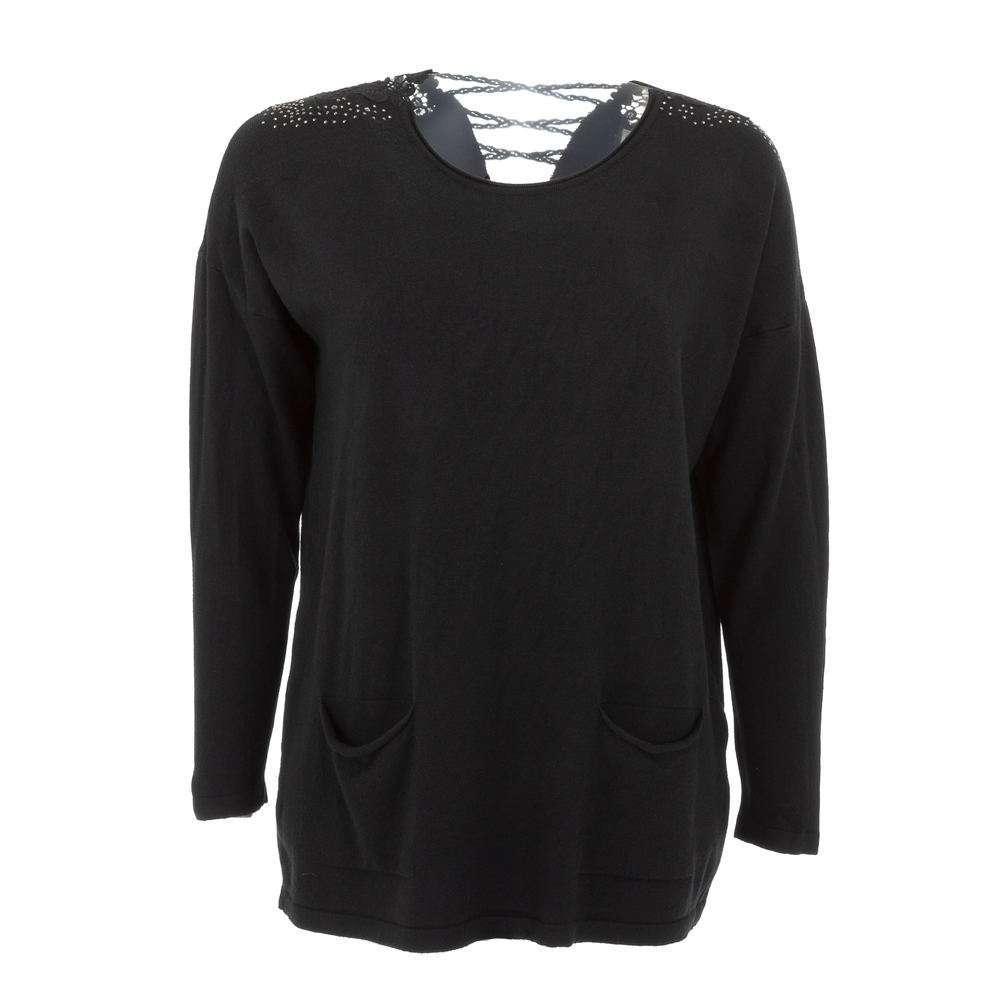 Pulover pentru femei de CMP55 Gr. O singură mărime - negru