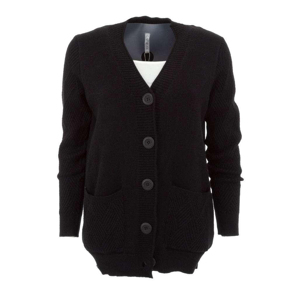 Cardigan de dama de la CMP55 Gr. O singură mărime - negru
