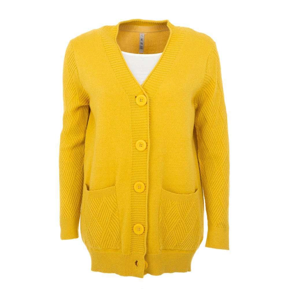 Cardigan de dama de la CMP55 Gr. O mărime - galben