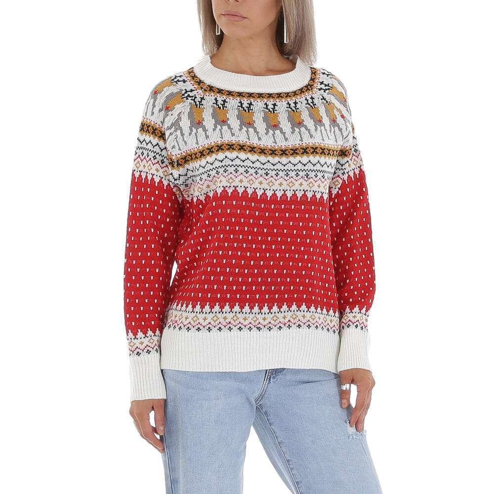Pulover pentru femei de CMP55 Gr. O singură mărime - roșu