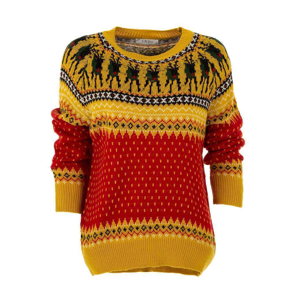 Pulover pentru femei de CMP55 Gr. O mărime - galben
