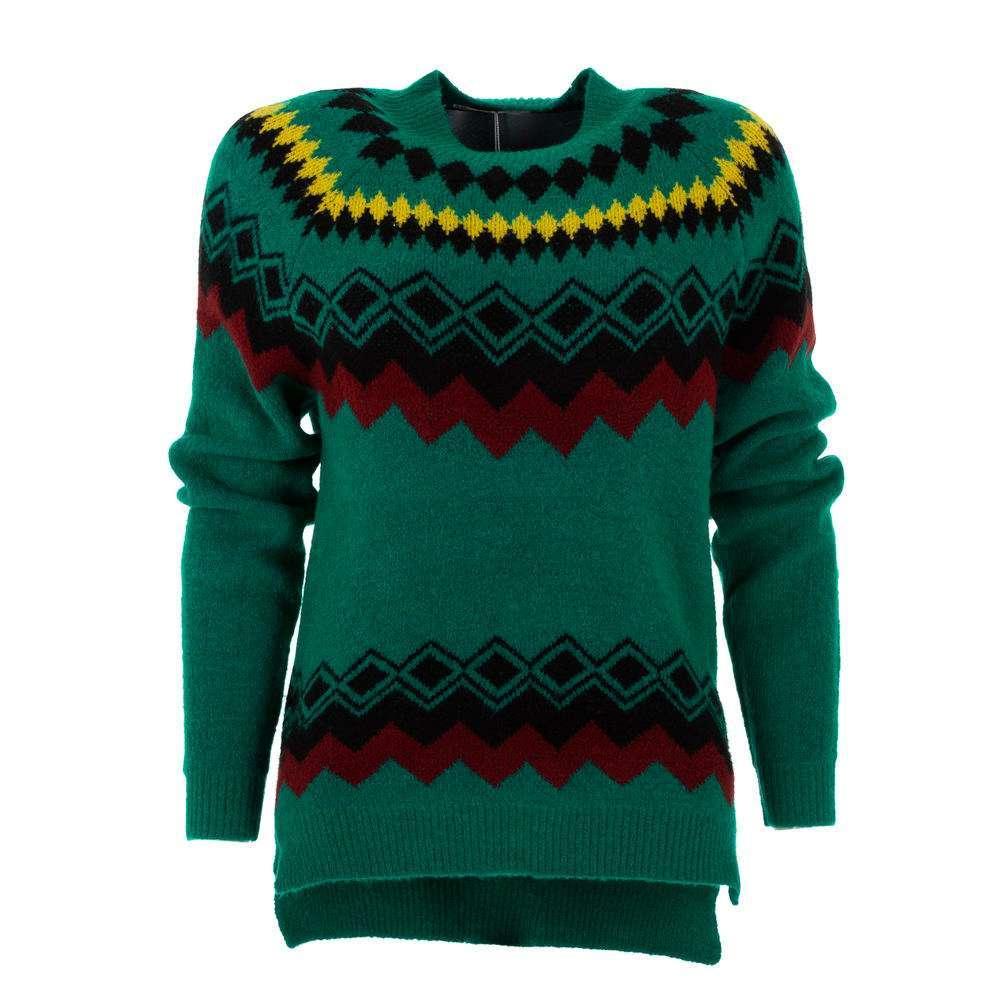 Pulover pentru femei de CMP55 Gr. O mărime - verde