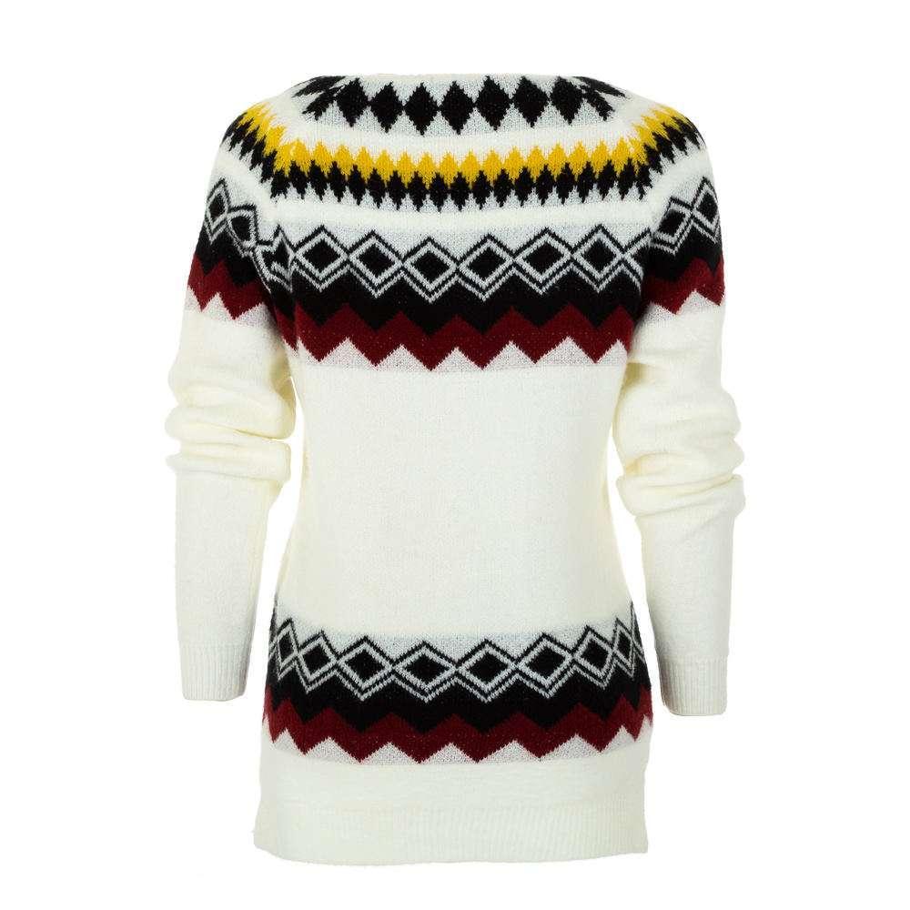 Pulover pentru femei de CMP55 Gr. O singură mărime - alb - image 2