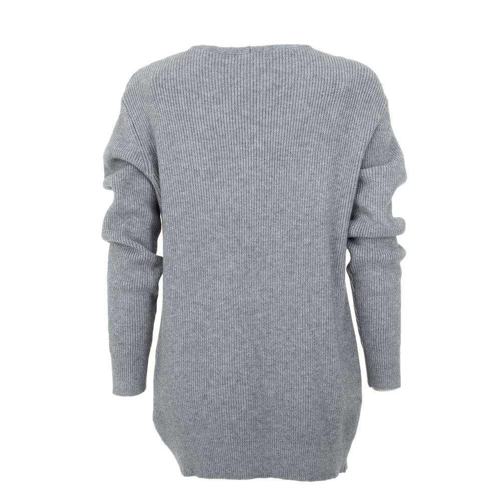 Pulover pentru femei de CMP55 Gr. O singură mărime - gri - image 2