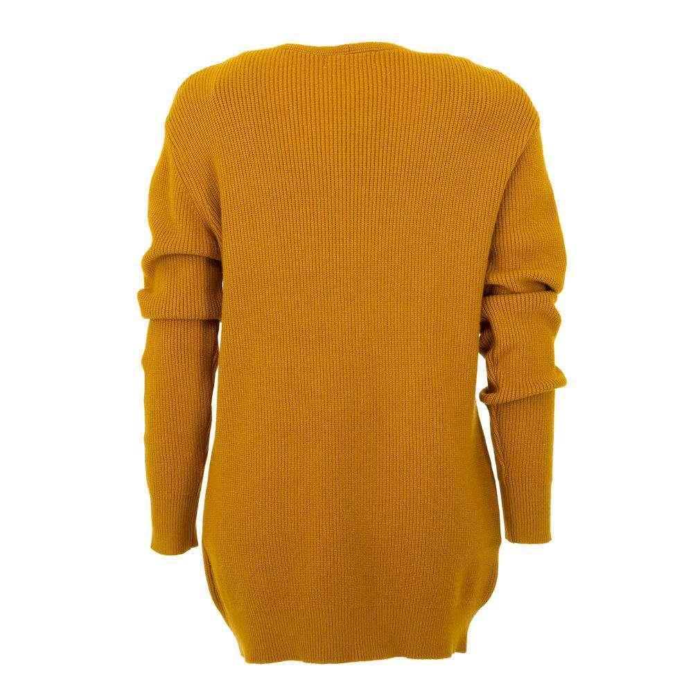 Pulover pentru femei de CMP55 Gr. O singură mărime - muștar - image 2