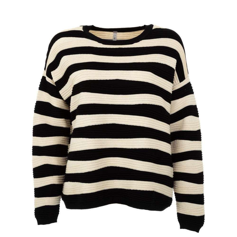 Pulover pentru femei de CMP55 Gr. O singură mărime - negrucrem