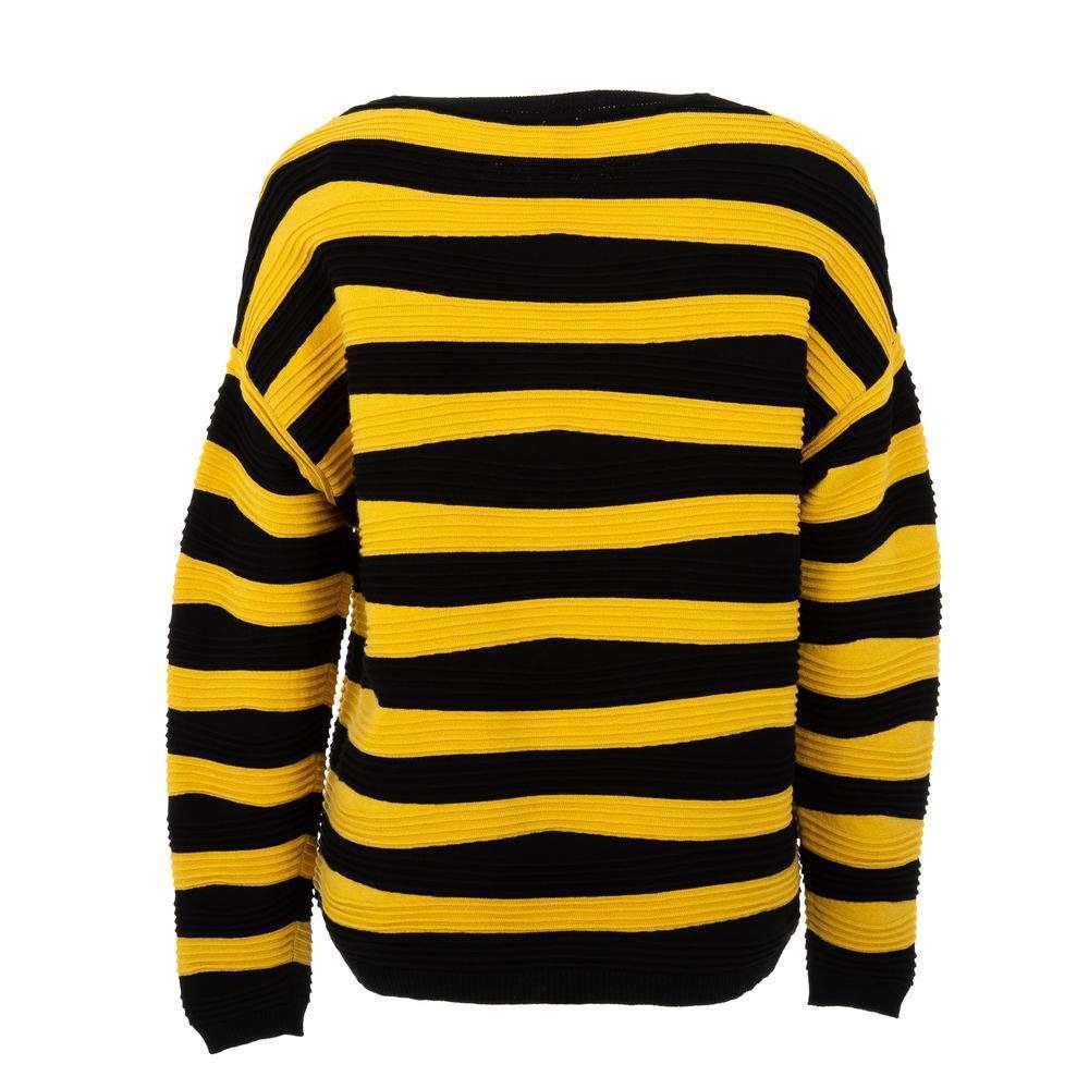 Pulover pentru femei de CMP55 Gr. O singură mărime - galben-negru - image 2