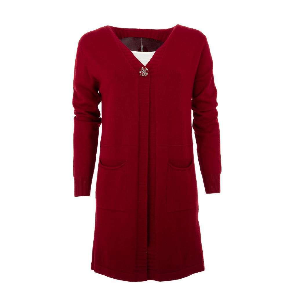 Cardigan de dama de la CMP55 Gr. O singură mărime - roșu