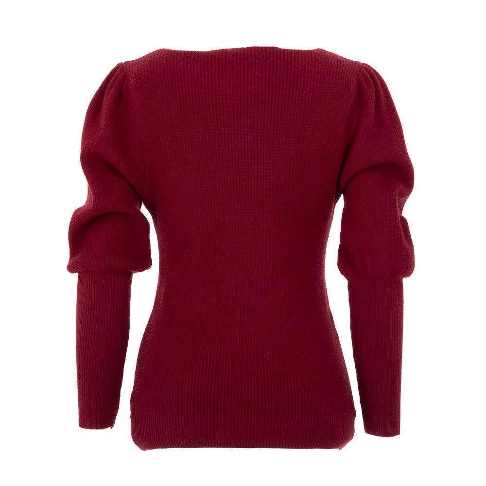 Pulover pentru femei de CMP55 Gr. O singură mărime - roșu - image 2