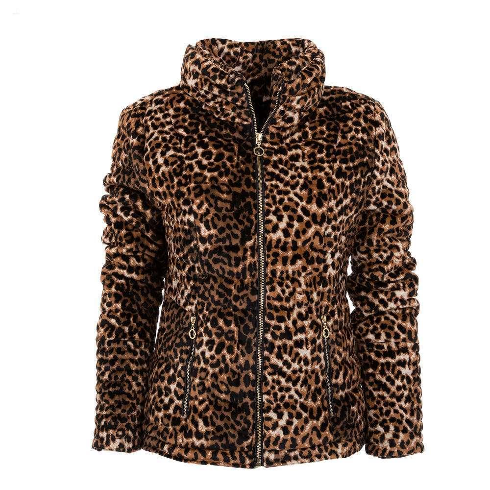 Geacă de dama de la Drole de Copine - leopard