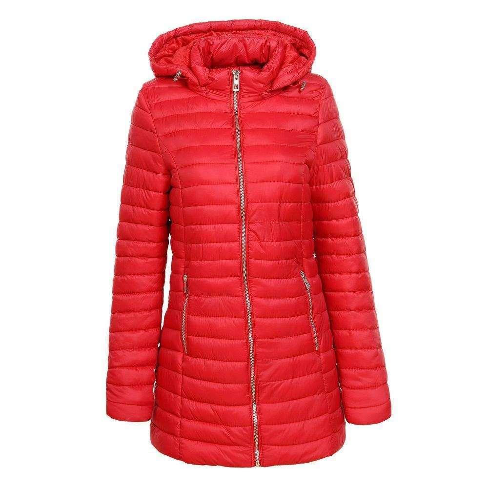 Palton de dama de la Glo storye - rosu