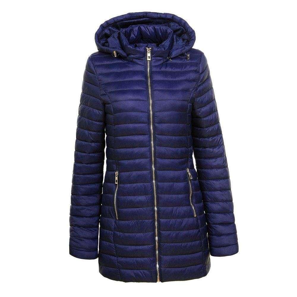 Palton de dama de la Glo storye - albastru