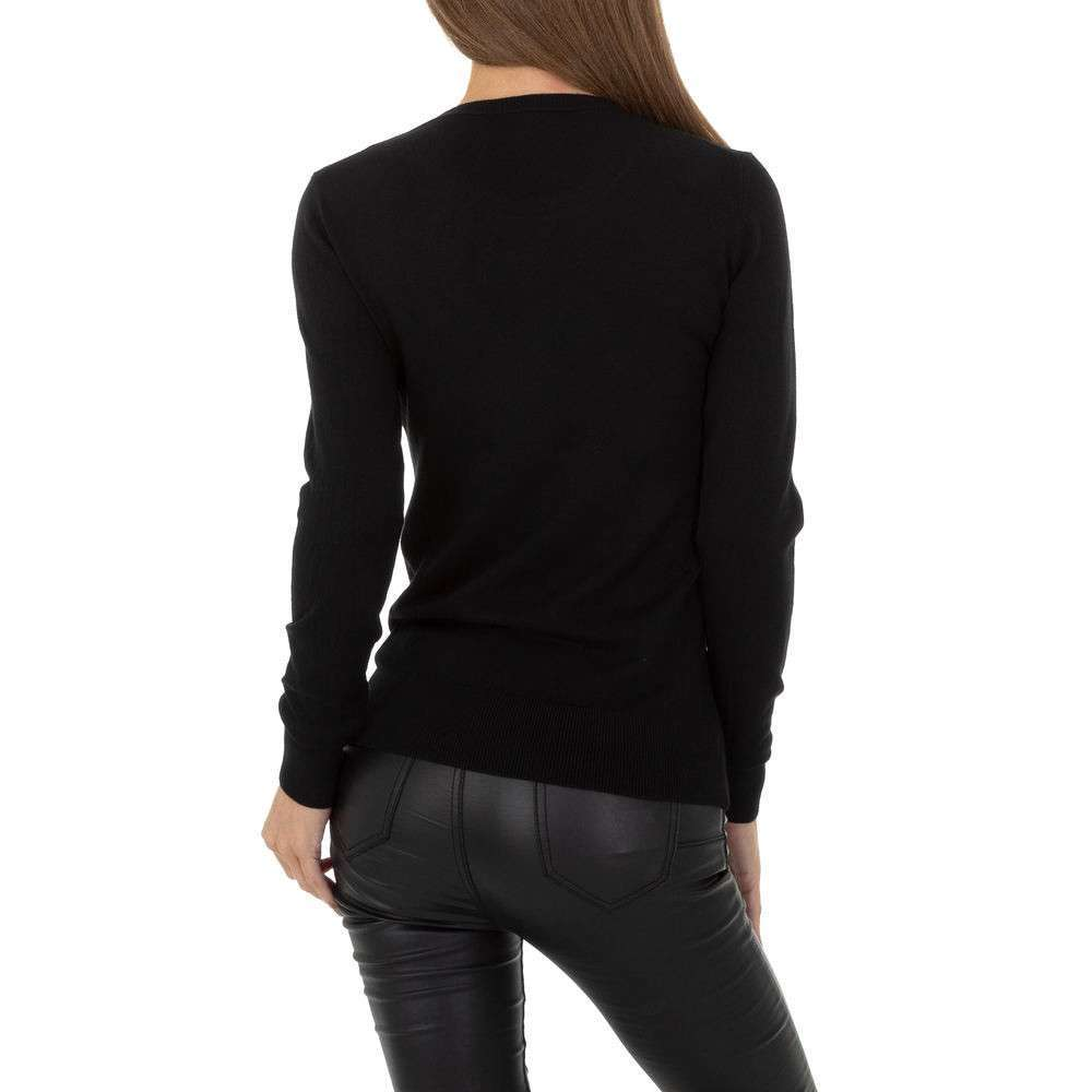 Pulover pentru femei de la Glo storye - negru - image 3