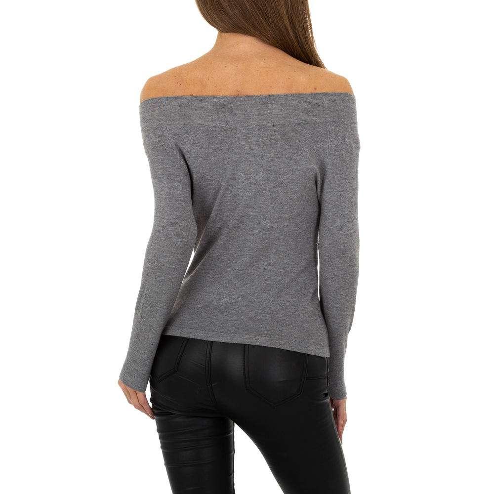 Pulover pentru femei marca Glo storye - gri - image 3