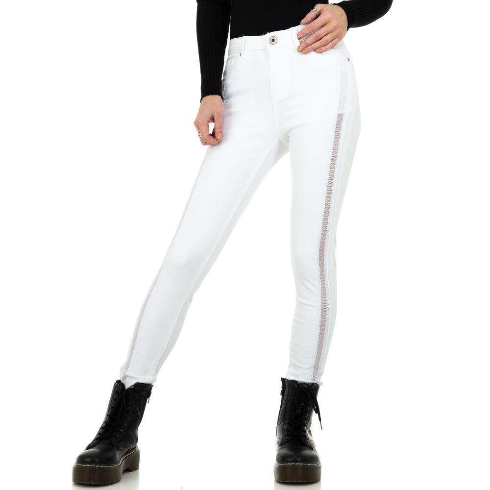 Blugi de damă marca Dromedar - albi
