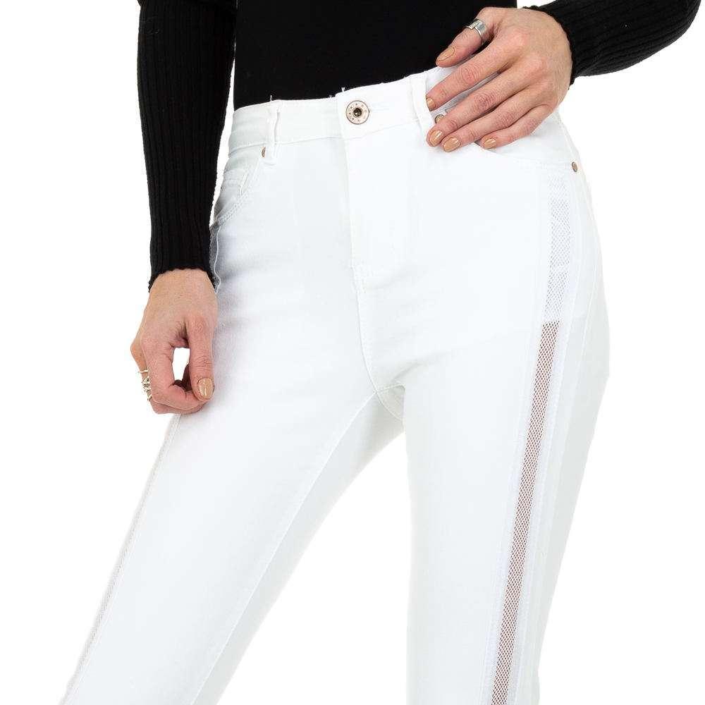 Blugi de damă marca Dromedar - albi - image 4