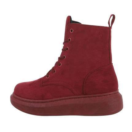 Damen Schnürstiefeletten - winered