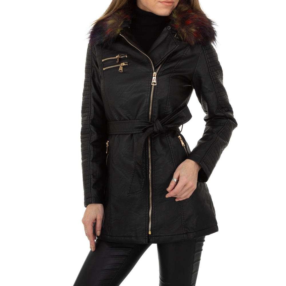 Palton pentru femei de la Egret - negru
