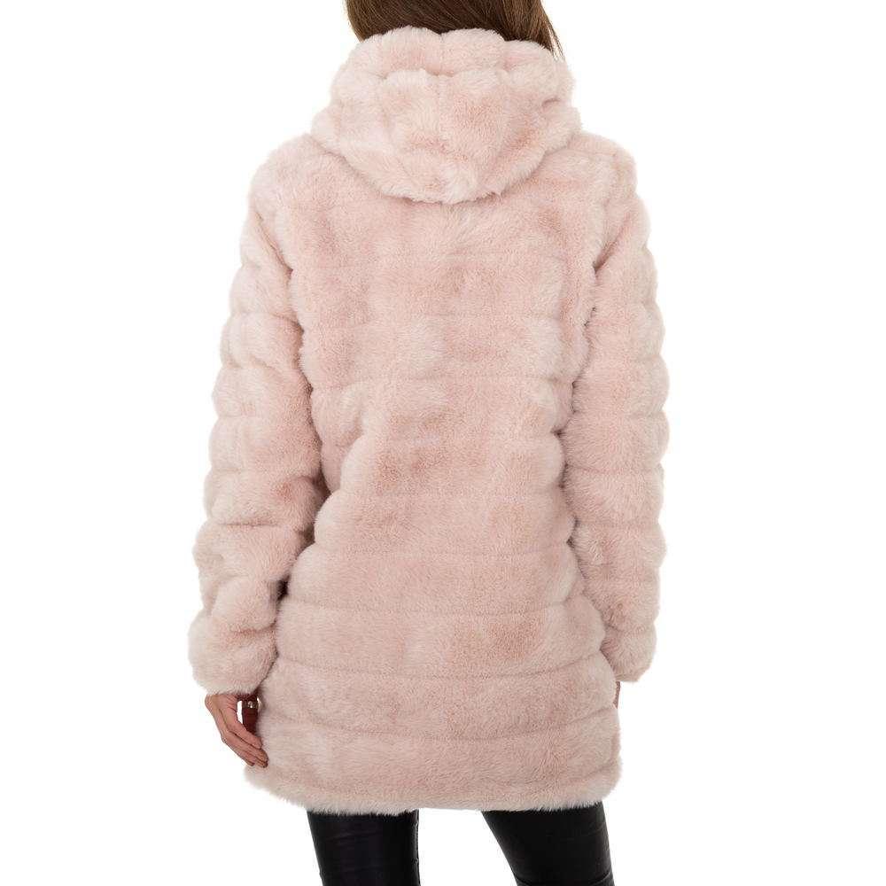 Palton pentru femei de Egret - roz deschis  - image 3