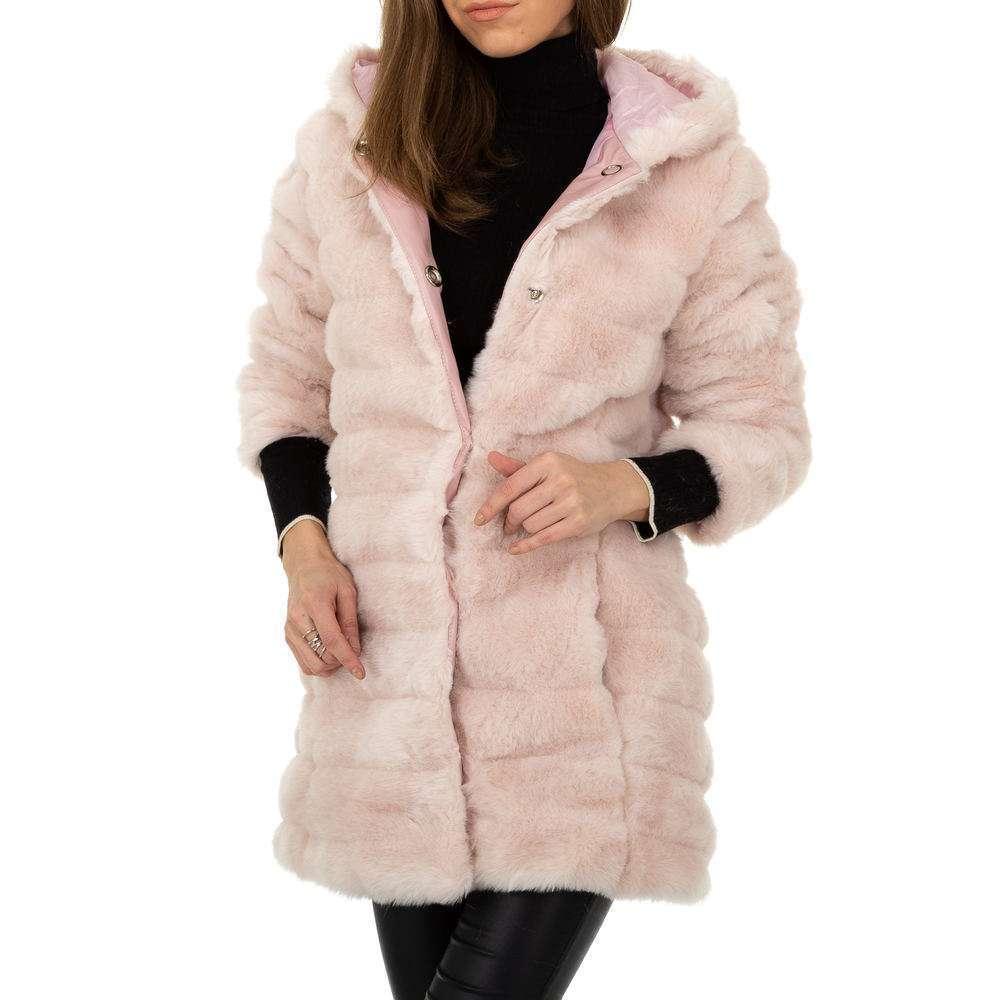 Palton pentru femei de Egret - roz deschis  - image 4