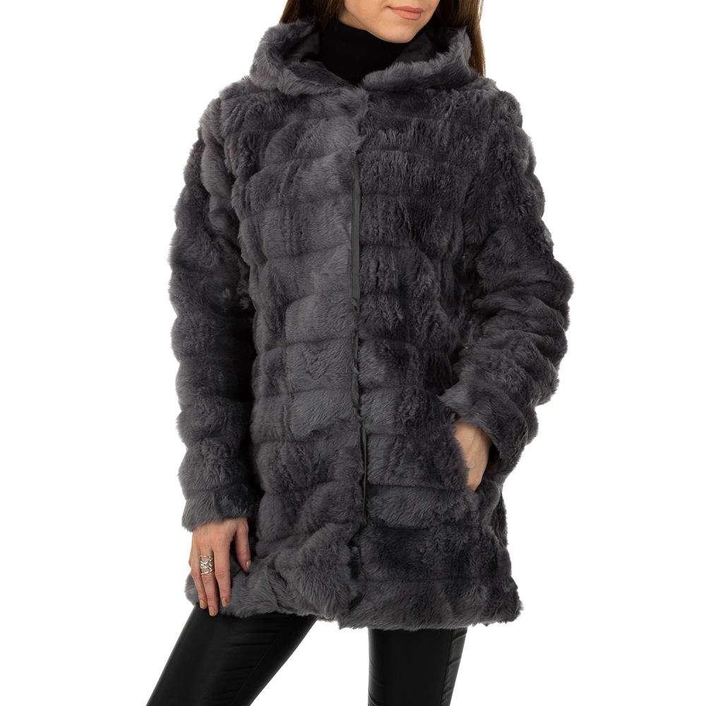Palton pentru femei de la Egret - gri