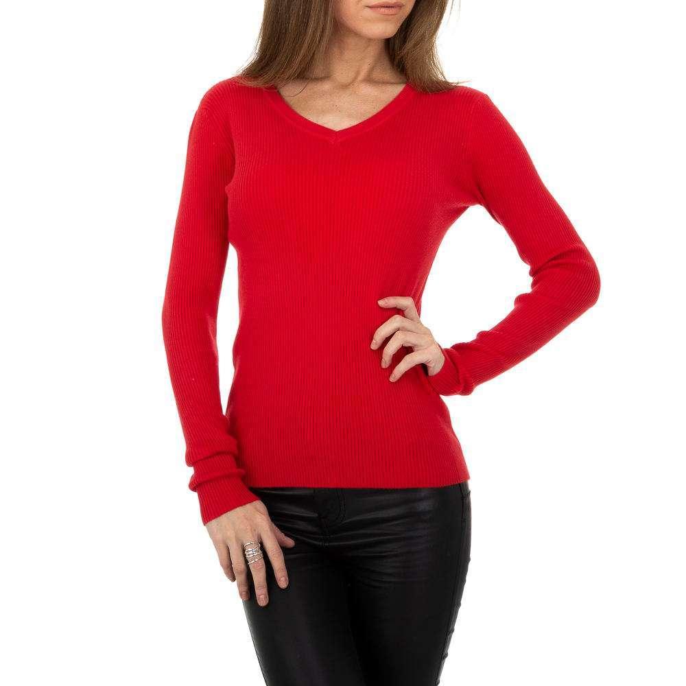 Pulover pentru femei de la Metrofive - roșu