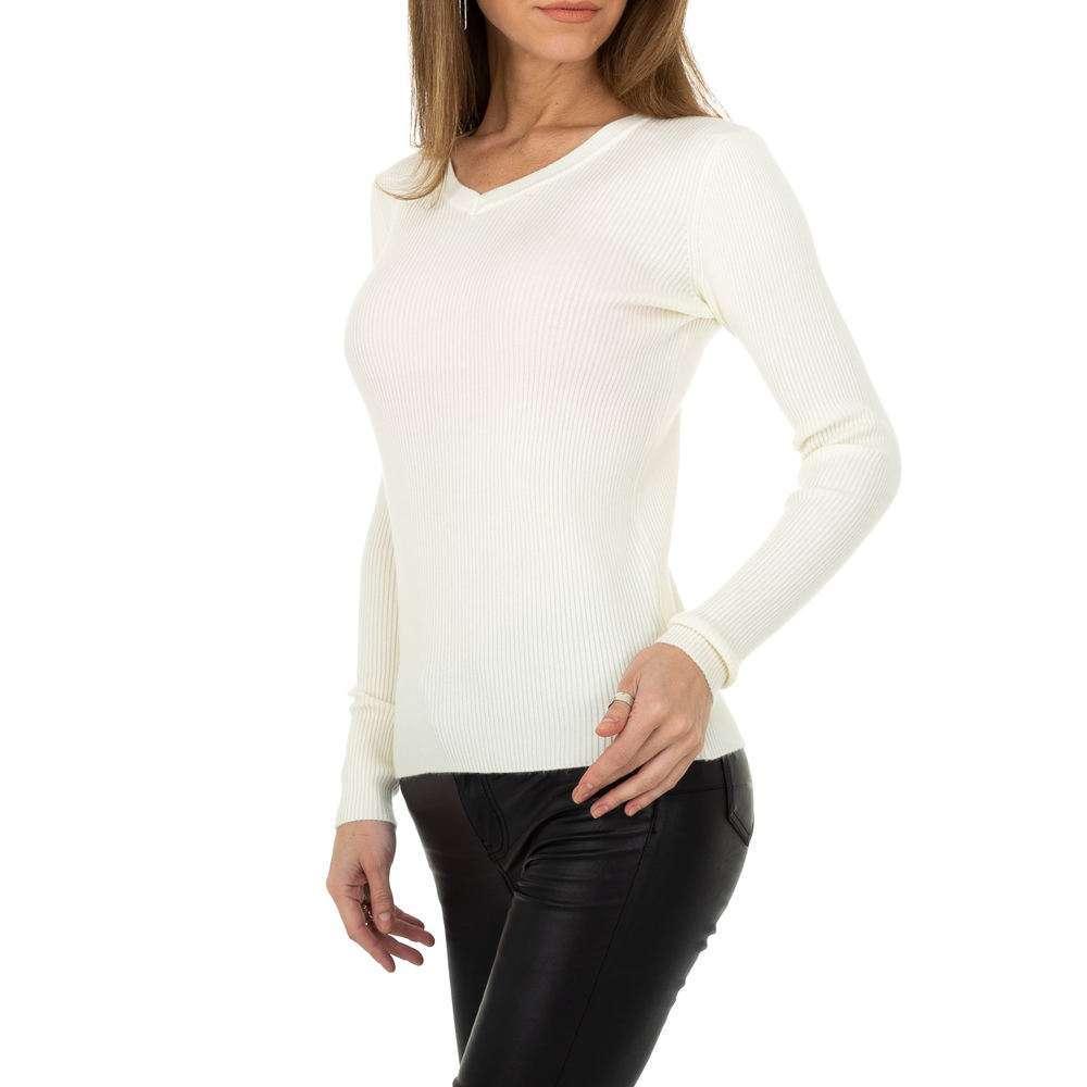 Pulover pentru femei de la Metrofive - alb - image 2