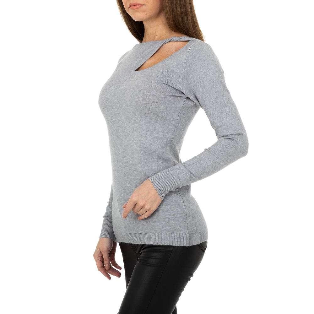 Pulover pentru femei de la Metrofive - gri - image 2