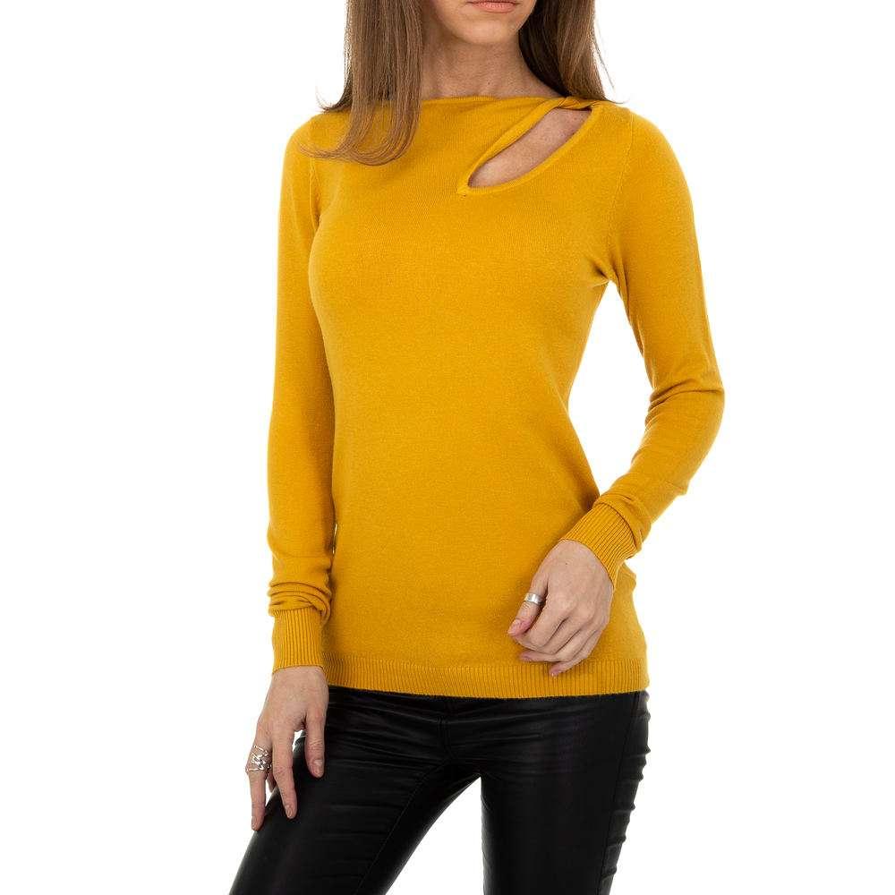 Pulover pentru femei de la Metrofive - galben
