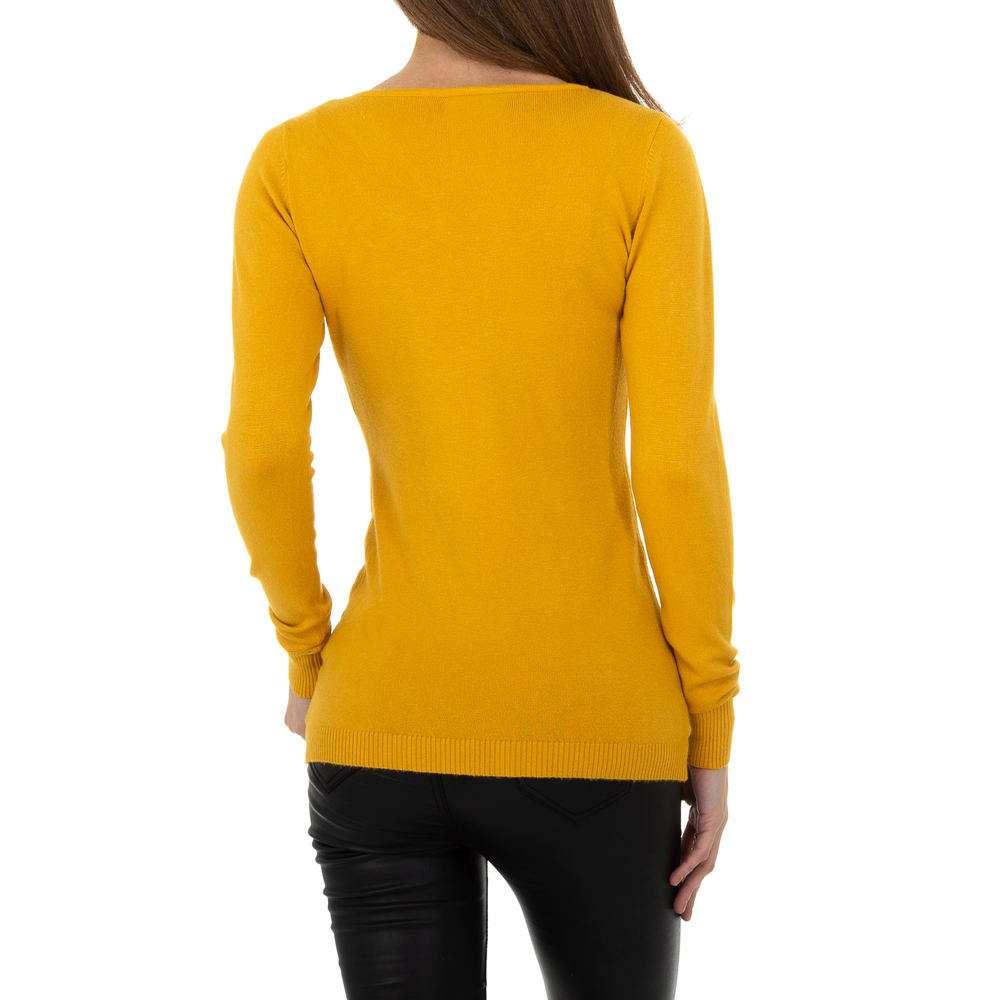Pulover pentru femei de la Metrofive - galben - image 3