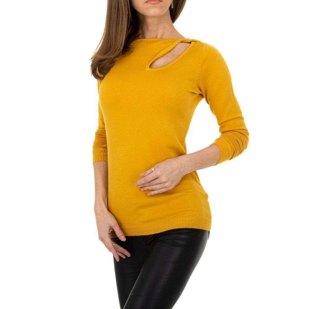 Pulover pentru femei de la Metrofive - galben - image 4
