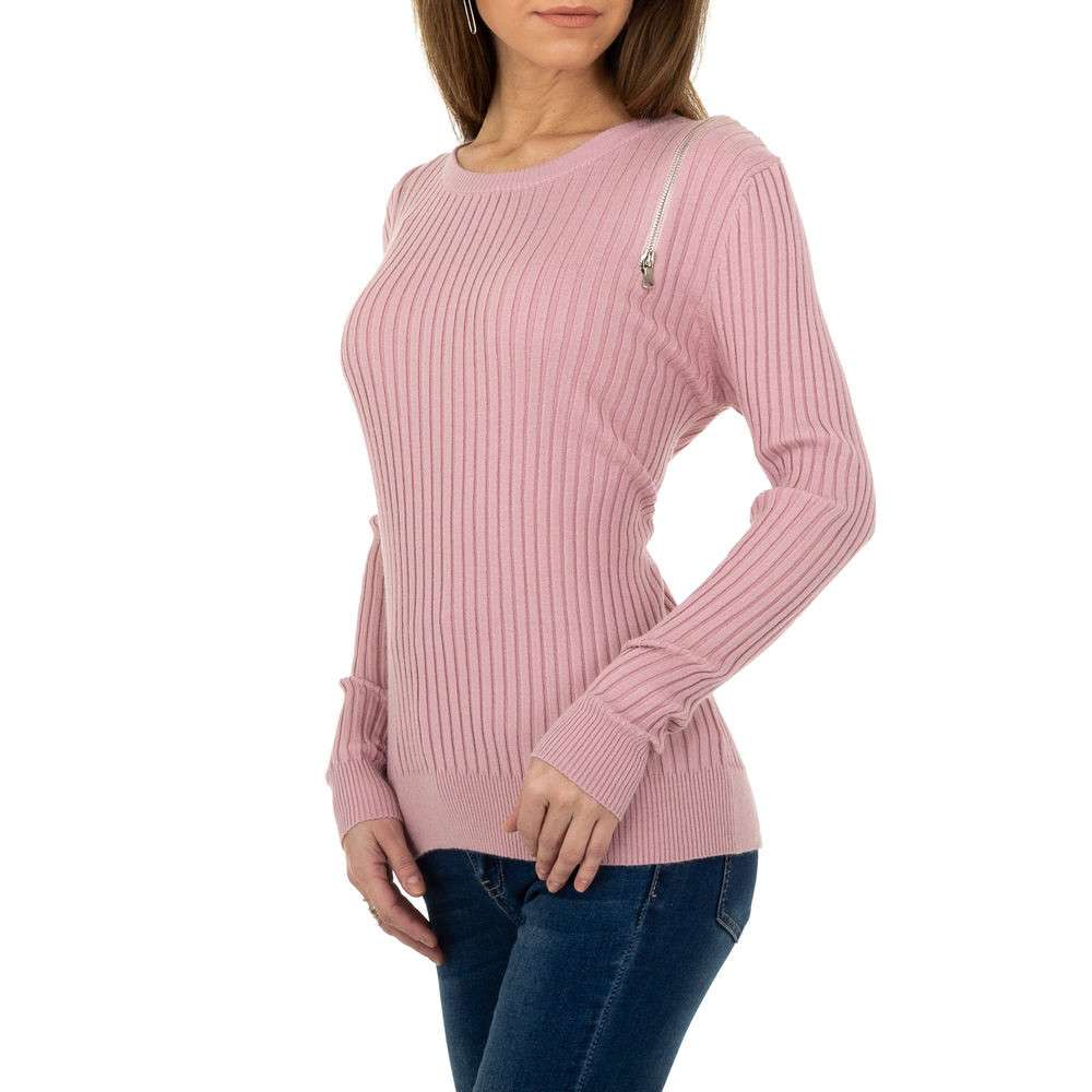 Pulover pentru femei de la Metrofive - trandafir - image 2
