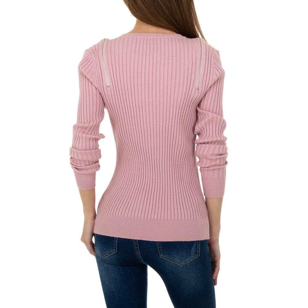 Pulover pentru femei de la Metrofive - trandafir - image 4