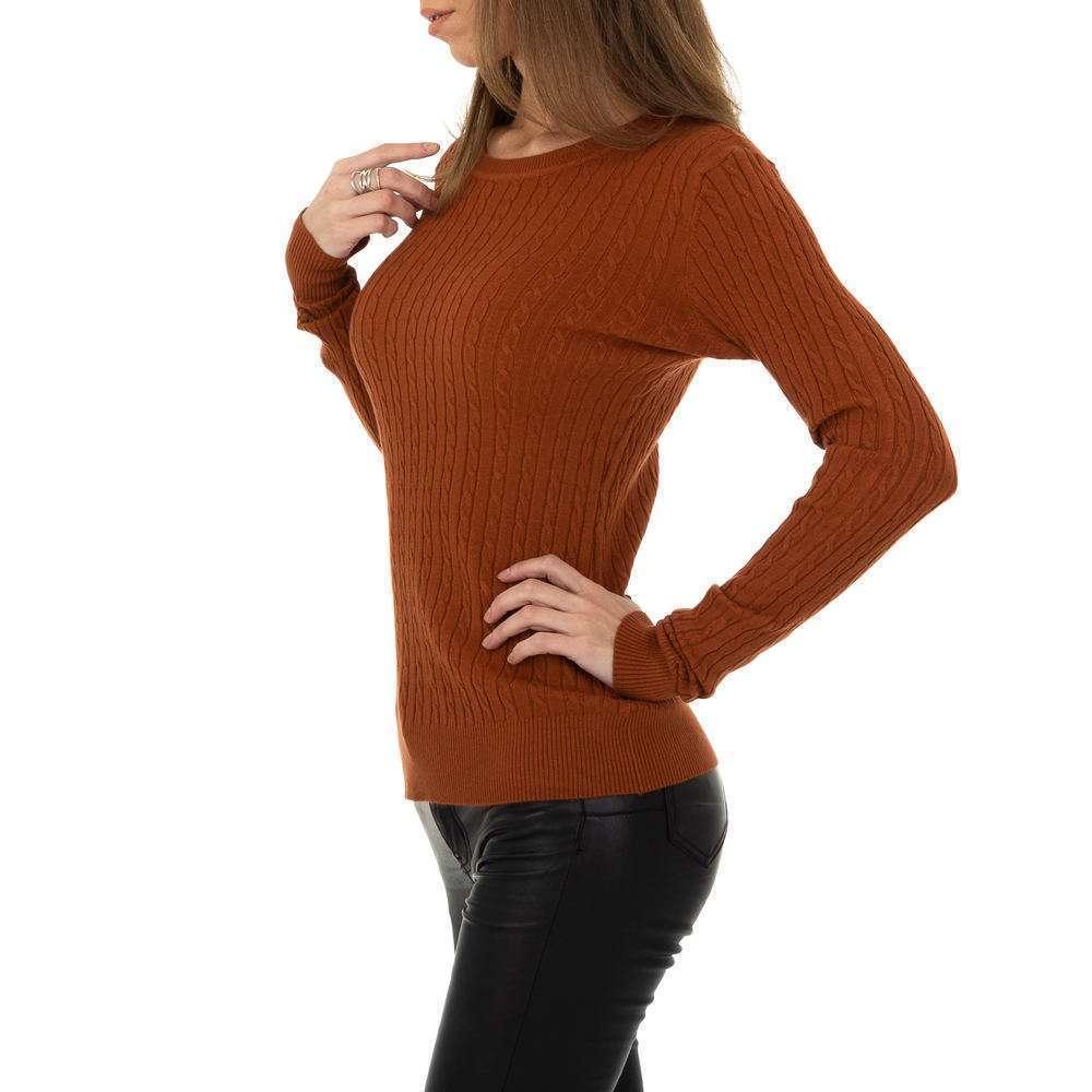 Pulover pentru femei de la Metrofive - maro - image 2